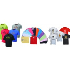 T- SHIRT SCREEN PRINTING OR SUBLIMATION
